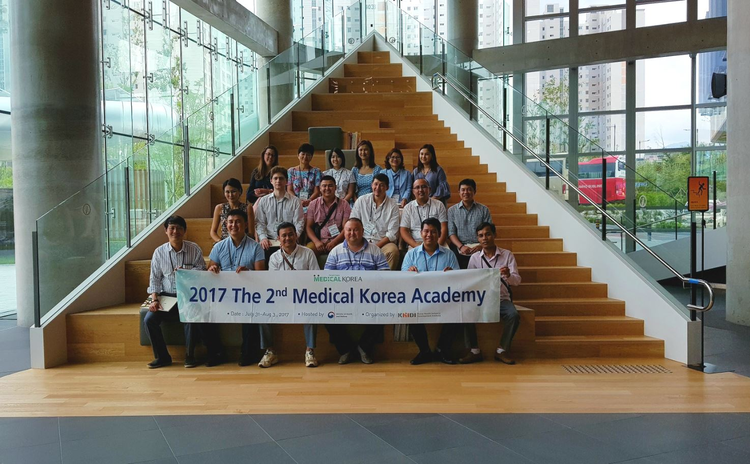 Visitors from Medical Korea Academy (2 Aug 2017)