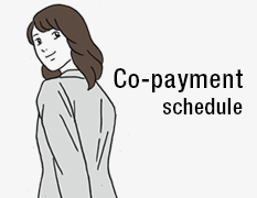 Co-payment schedule